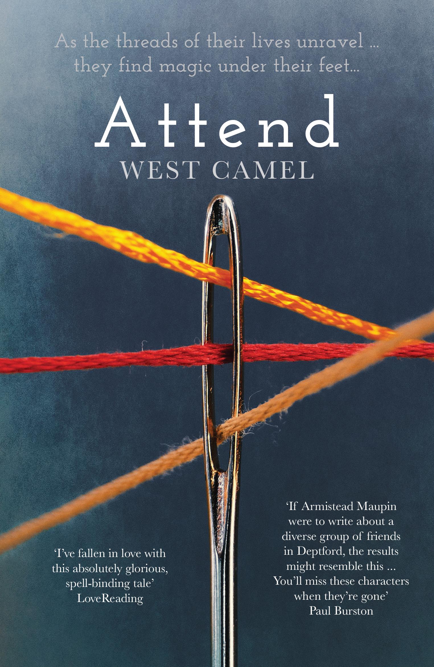 Attend – my debut novel